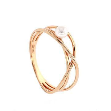 记忆珠宝明洞系列Abstract金戒指