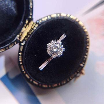 菲洛澜钻石时尚钻石女戒