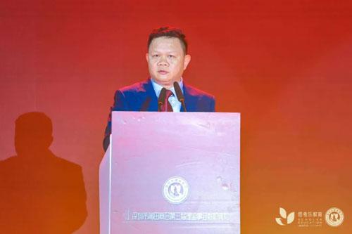 深圳市莆田商會會長林國春致辭