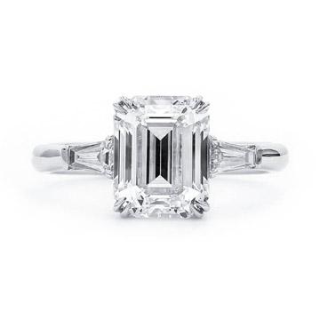耳丁小K-钻石K金戒指