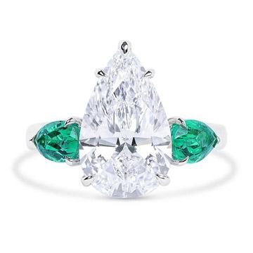 耳丁小K-钻石戒指