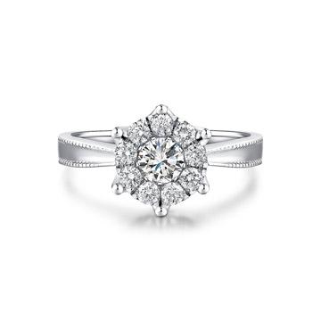 奢美珠宝求婚钻戒