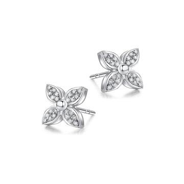 奢美珠宝钻石耳钉