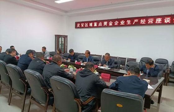 河南省黄金协会,黄金企业座谈会