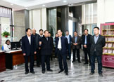 郑州市人社局领导到梦祥工厂调研第46届世赛珠宝加工项目实训基地