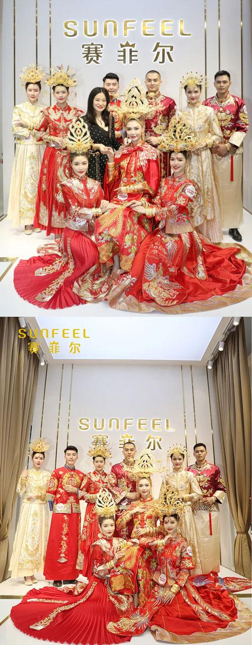 赛菲尔珠宝大美中国风模特展示