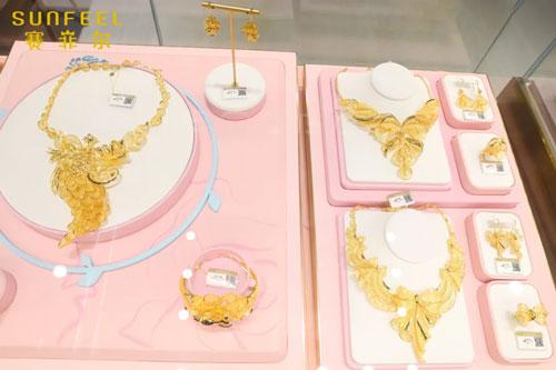 大美中国风·万足金婚纱系列产品